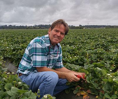 Brent Rouppet, Ph.D., Soil Fertility Scientist